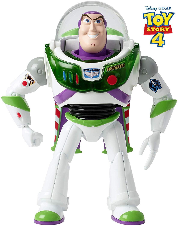 [Amazon Prime] Mattel GGH41 (GGH45, GGX30) - Toy Story 4 Buzz Lightyear Figur, Sound und Features, 17 cm Spielzeug Action Figur ab 3 Jahren