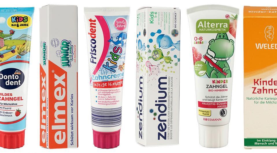 [Öko-Test] Kinderzahnpasta-Test: Jetzt gratis Testurteil zu 62 Produkten abrufen
