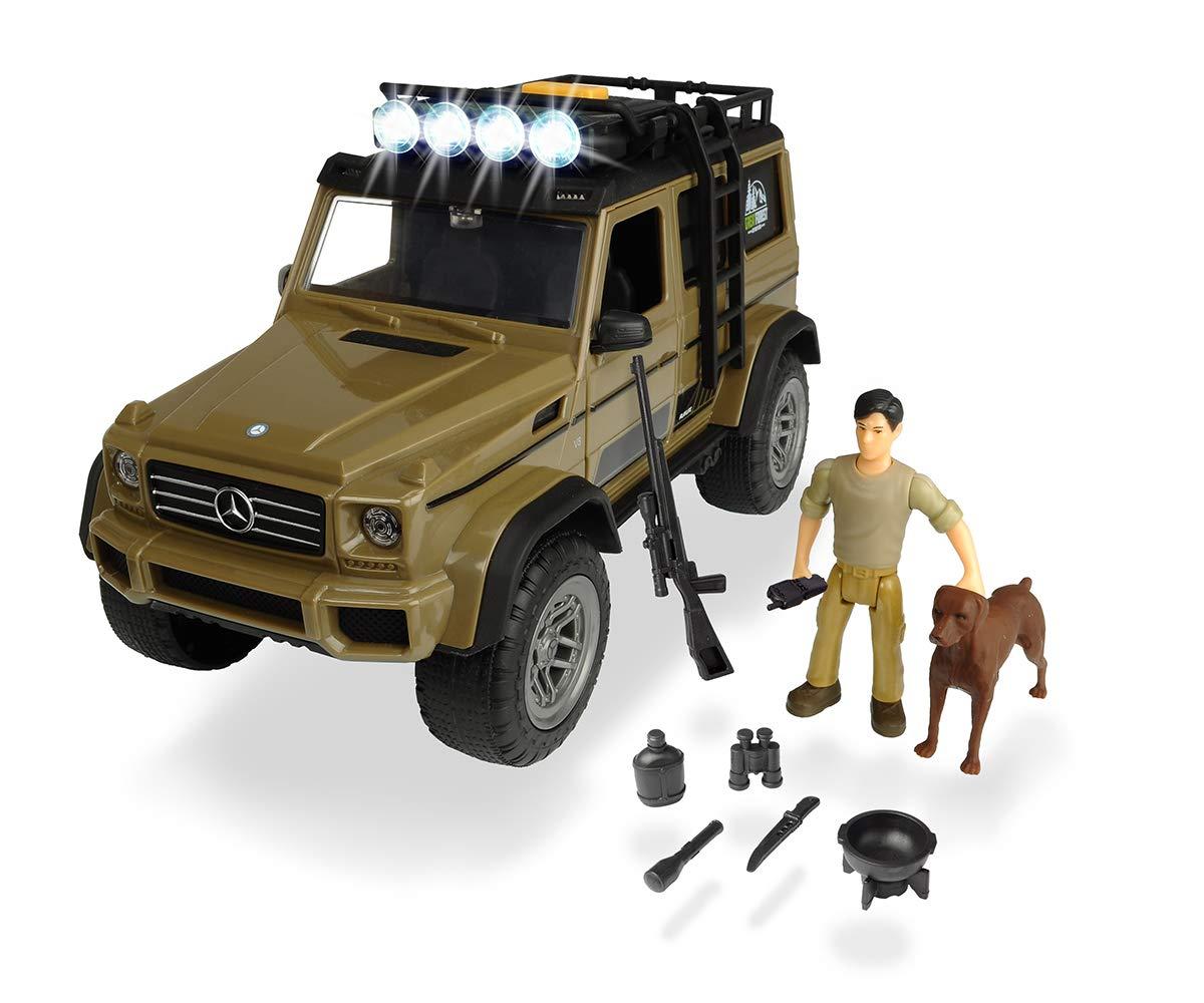 [Amazon Prime] Dickie Toys 203834002 - Playlife Ranger Set, Mercedes Benz AMG Geländewagen inkl. Figuren, 23 cm
