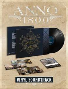 Anno 1800 Merch im Sale: T-Shirts ab 13,99€ // Vinyl Soundtrack für 20,99€ // 30% Rabatt