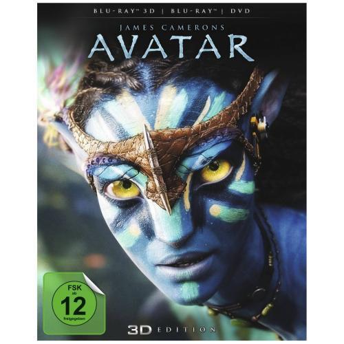 [BLU-RAY 3D] Avatar - Aufbruch nach Pandora 3D (inkl. 2D Version + DVD) @ MediaMarkt.de für 17,00 EUR