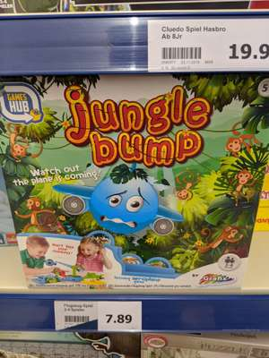 Action: jungle bump (Looping Louie Fake)