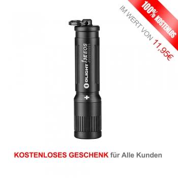 Olight I3E EOS Schlüsselbund Taschenlampe für Alle Kunden (X-MAS Aktion)