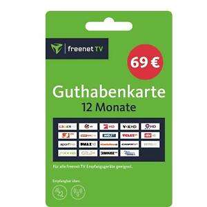 [ebay plus] Freenet TV Guthaben 12 Monate