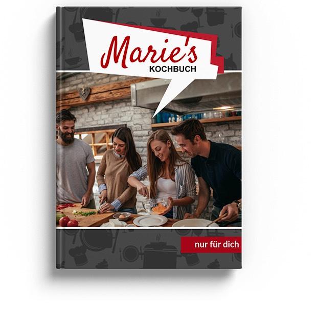 Personalisierbares Kochbuch + GRATIS Leinwand [Rewe.de]