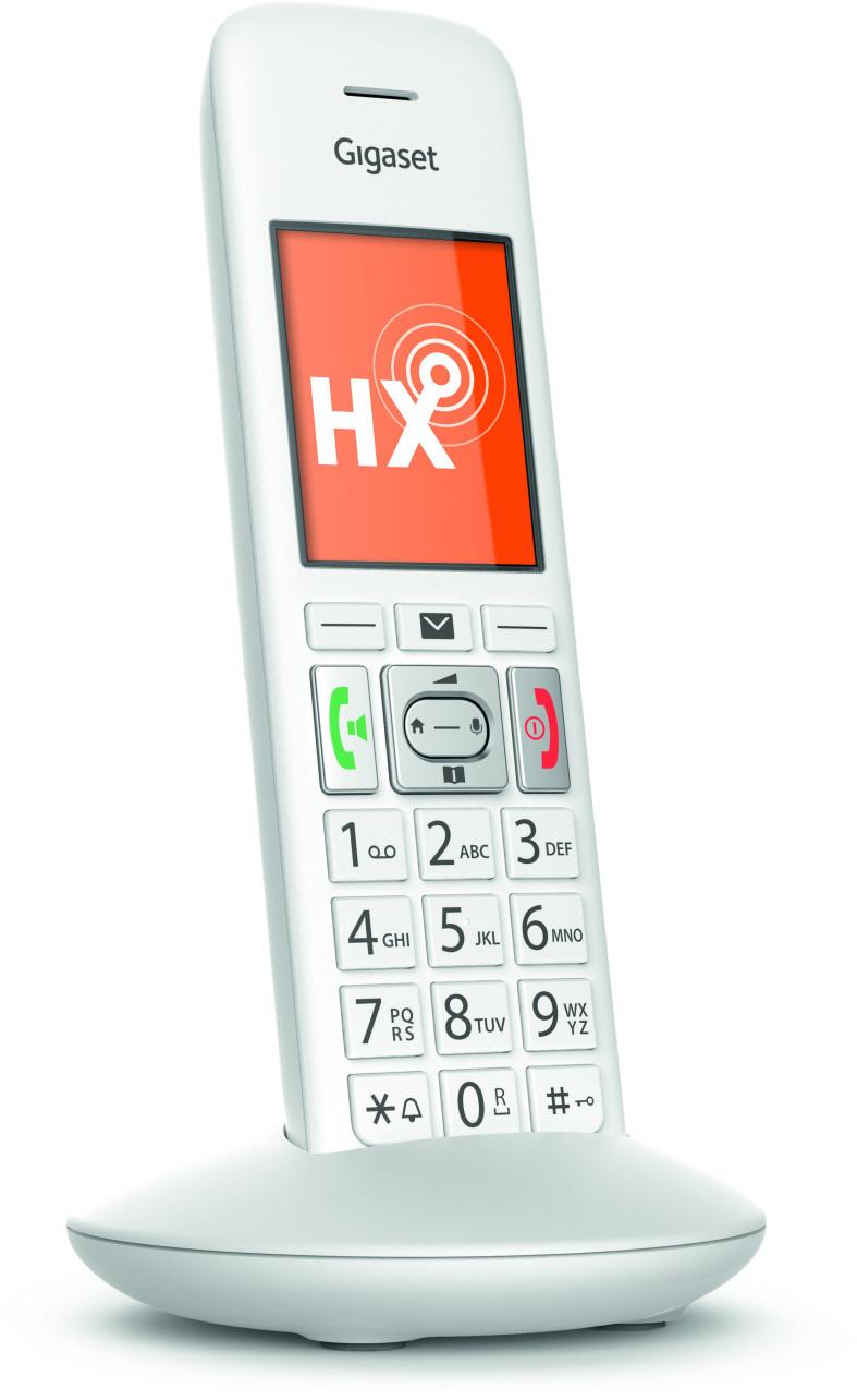 Gigaset E370HX DECT Mobilteil weiß geeignet für AVM FritzBox, Telekom Speedport usw. große Tasten für 23,45€ inkl. Versandkosten