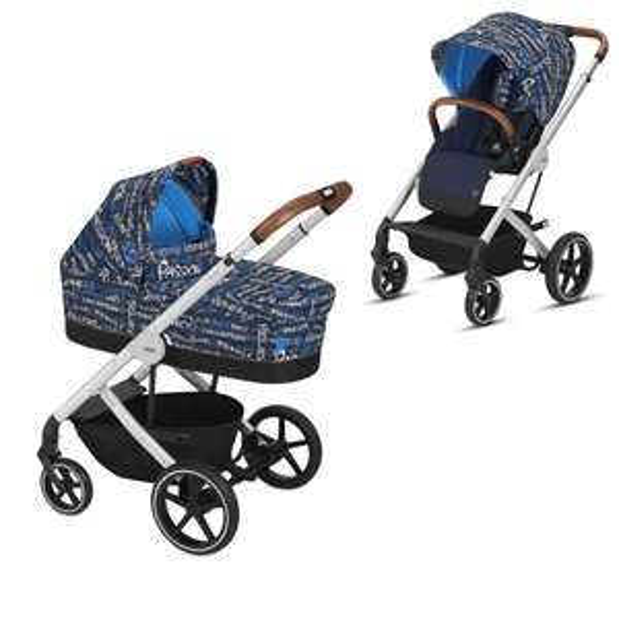 cybex GOLD Kinderwagen Balios S inklusive Kinderwagenaufsatz Cot S