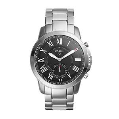 Fossil Herren Hybrid Smartwatch Grant z.B, FTW1158