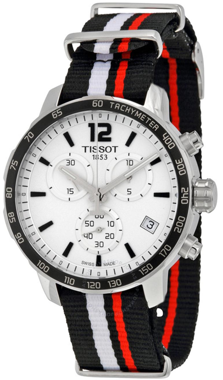 Tissot Quickster Nato Chronograph 42mm - Quarzwerk | Saphirglas | 10 bar wasserdicht