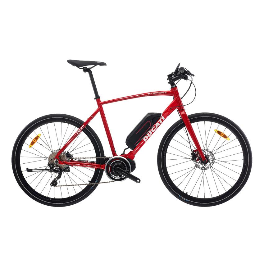 """Ducati E Sport Shimano E6010 418 Wh 28"""" 10-sp (51,55,59)"""