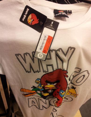 Angry Birds T-Shirts bei C&A für 7 € online und offline