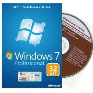 Windows 7 Professional Lizenz + DVD nur 30 Euro inkl. Versand @Amazon Marketplace