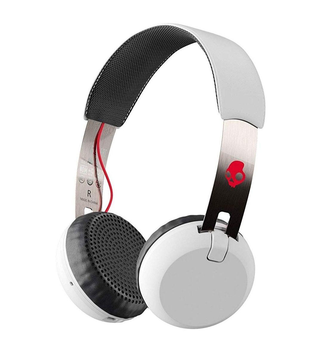 Skullcandy Grind Wireless, On-Ear Kopfhörer, Weiß