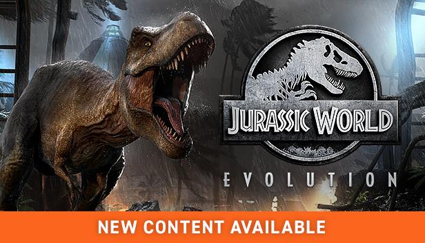 "Jurassic World Evolution + DLC ""Return To Jurassic Park"""