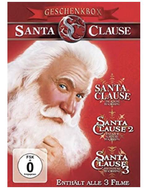 [Amazon] Santa Clause 1-3 DVD