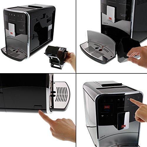 Melitta Caffeo Barista T Smart F830-101 Kaffeevollautomat mit Milchbehälter