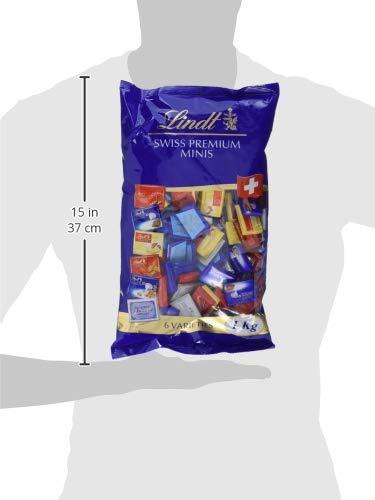 [Amazon Prime] Lindt Napolitains Mini Schokoladentafeln, Großpackung, 1 kg