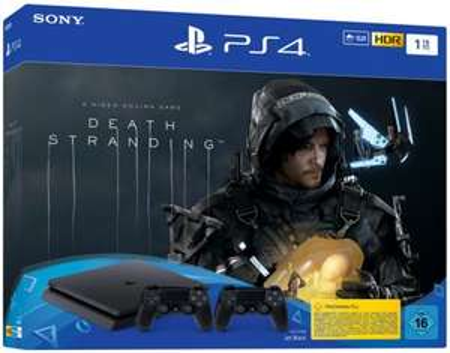 PS4 1TB + 2 Controller + Death Stranding Bundle