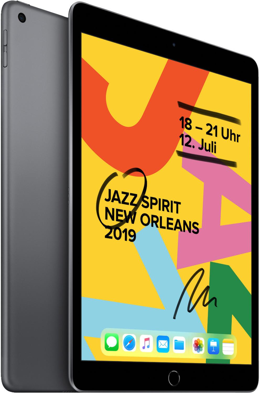 Apple iPad 10.2 2019 32GB WiFi spacegrey für 287,91€ inkl. Versandkosten [ebay Plusdeal]