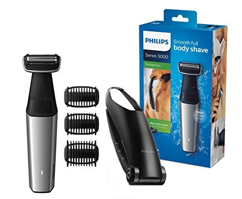 """Philips Bodygroom """"BG5020/15"""" mit Aufsatz für Rückenhaarentfernung (Wasserdicht, Inkl. 3 Kammaufsätze) [Amazon]"""
