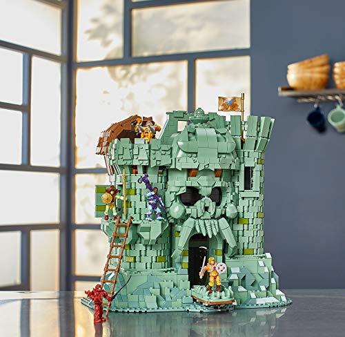 AMAZON.DE Prime MegaConstrux Masters of the Universe Castle Grayskull Bauset mit 3508 Bausteinen