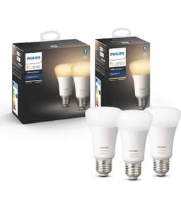 Philips Hue White Ambience E27 3er Pack Mit Bluetooth