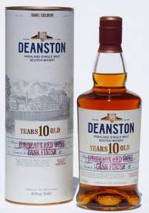 Deanston Whisky 10 years Bordeaux Red Wine Cask Finish 70cl