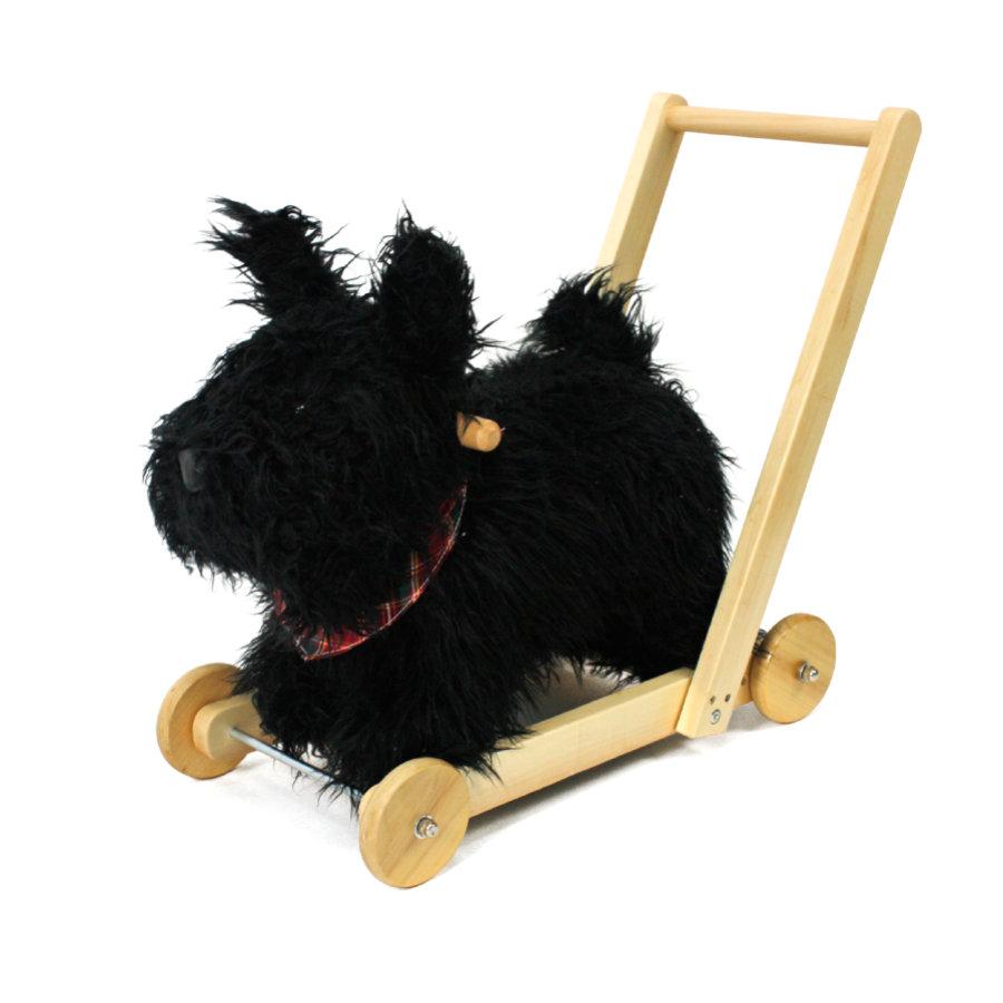 Treppy Schaukeltier und Lauflernhilfe 'Push and Walk Dog'