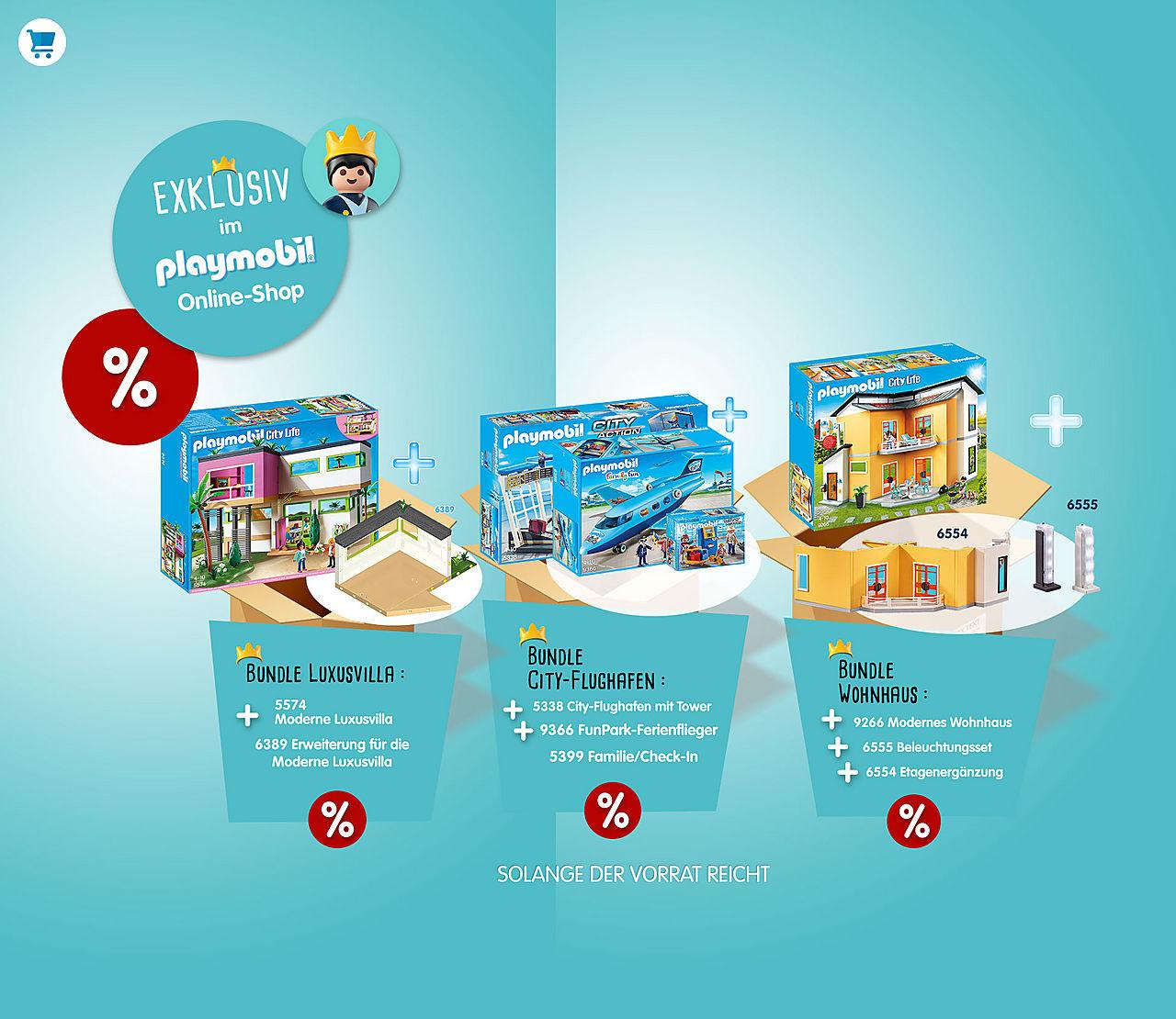 25% Rabatt auf Ergänzungen und Zuberhör bei Playmobil