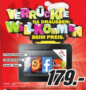 Kindle Fire HD 16GB im MediaMarkt Neunkirchen