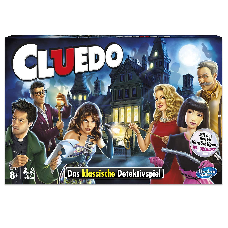 [Amazon Prime] Hasbro Spiele 38712398 - Cluedo Familienspiel (Detektivspiel)