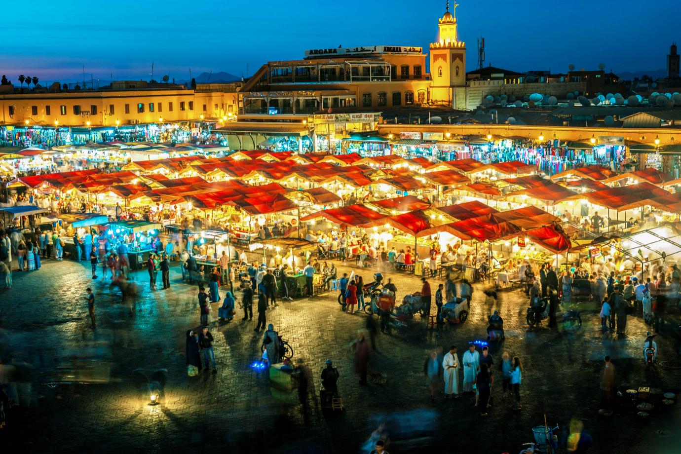 4 Tage Marrakesch inkl. Flug, 4* Hotel mit Frühstück, 1x Dinner pro Person ab 159€