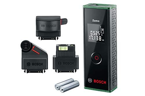 [Amazon-Last-Minute-Angebot] Bosch Laser Entfernungsmesser Zamo Set (3. Generation) für 59,99€.