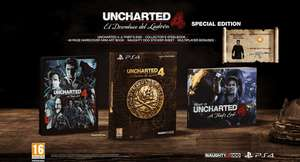 Uncharted 4: A Thief's End - Special Edition (PS4) für 28,94€ inkl. Versand (xtralife)