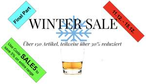 WINTERSALE FINAL PART auf Whisky Rum und Gin - Beispiel: Cotswolds TBWC Batch 1