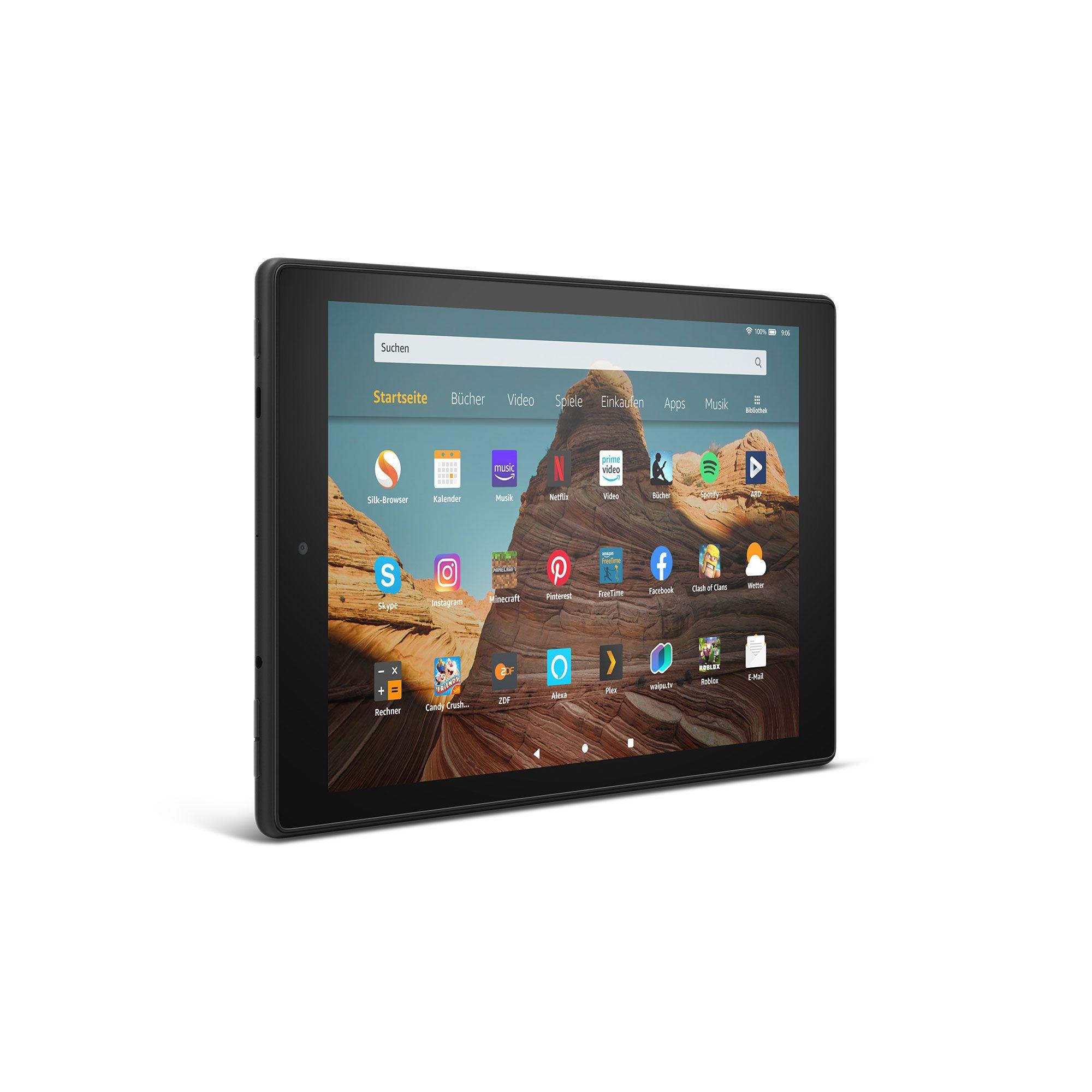Das neue Amazon Fire HD 10 32 GB + 32 GB Micro SD