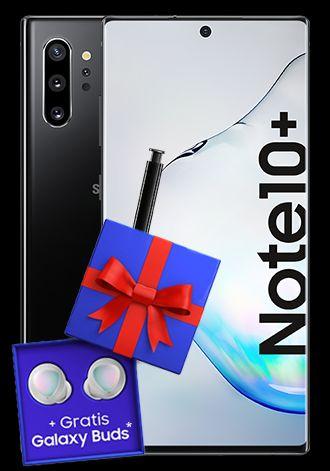 Samsung Galaxy Note 10 Plus im Debitel Telekom Magenta Mobil M (12GB 5G, StreamOn Music und Video) mtl. 39,95€ einm. 49€