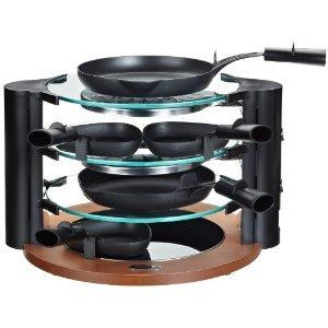 Amazon Adventskalender Maybaum RAC 500 Design-Glas-Raclette für 8 Personen für 99 Eur