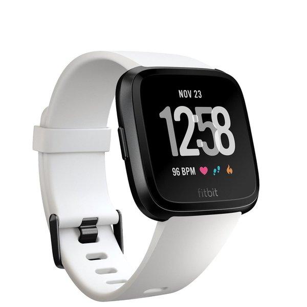 Fitbit Versa - Special Edition in schwarz/weiß - Absoluter Bestpreis