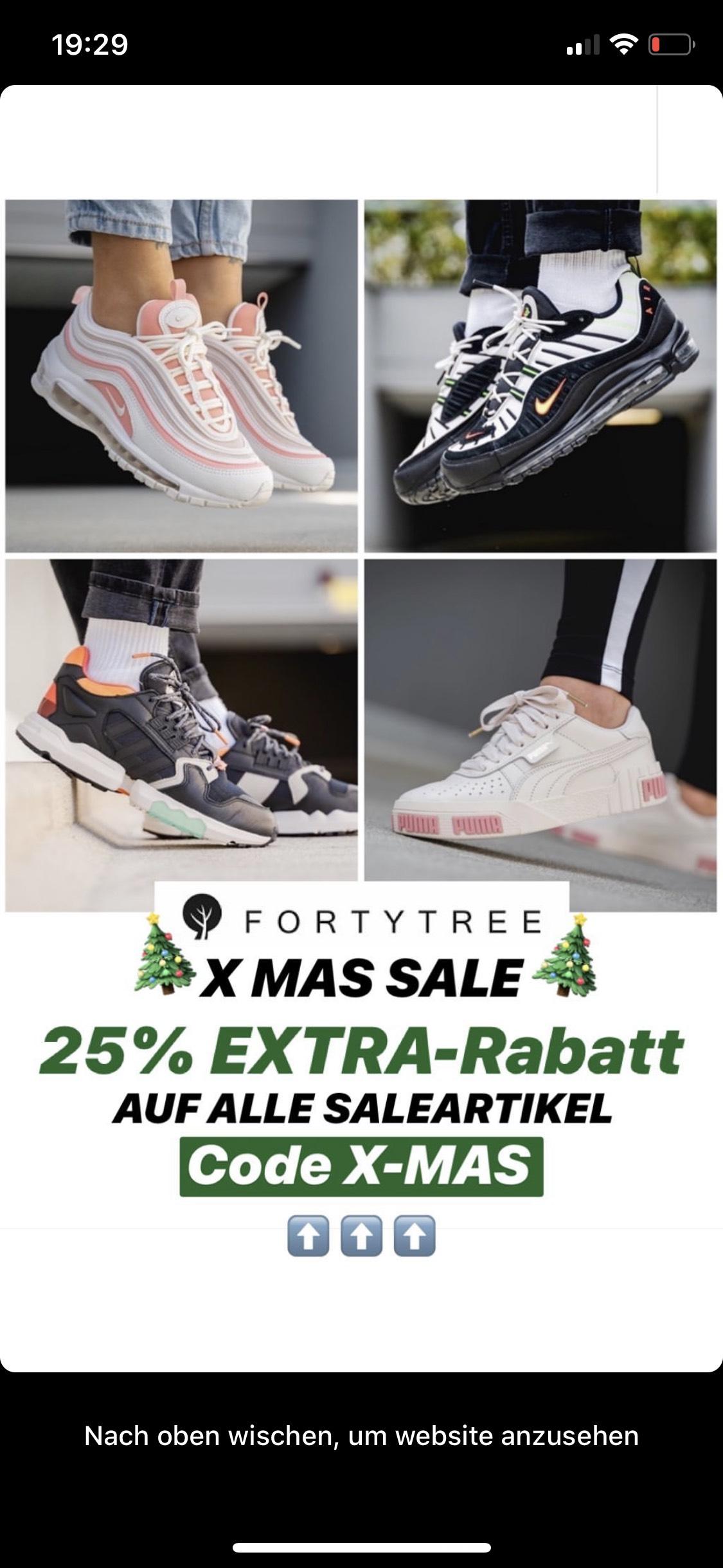 Adidas,Puma,Nike Schuhe 25%