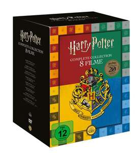 Harry Potter Collection (exklusive Buchhandels-Edition) DVD-Box bei Thalia
