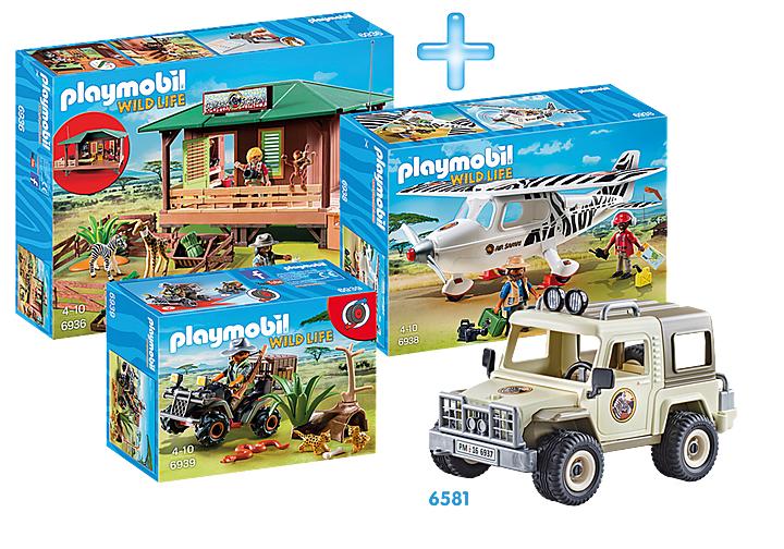 Playmobil Rangerstation Bundle, Sonderpreis inkl. Versand