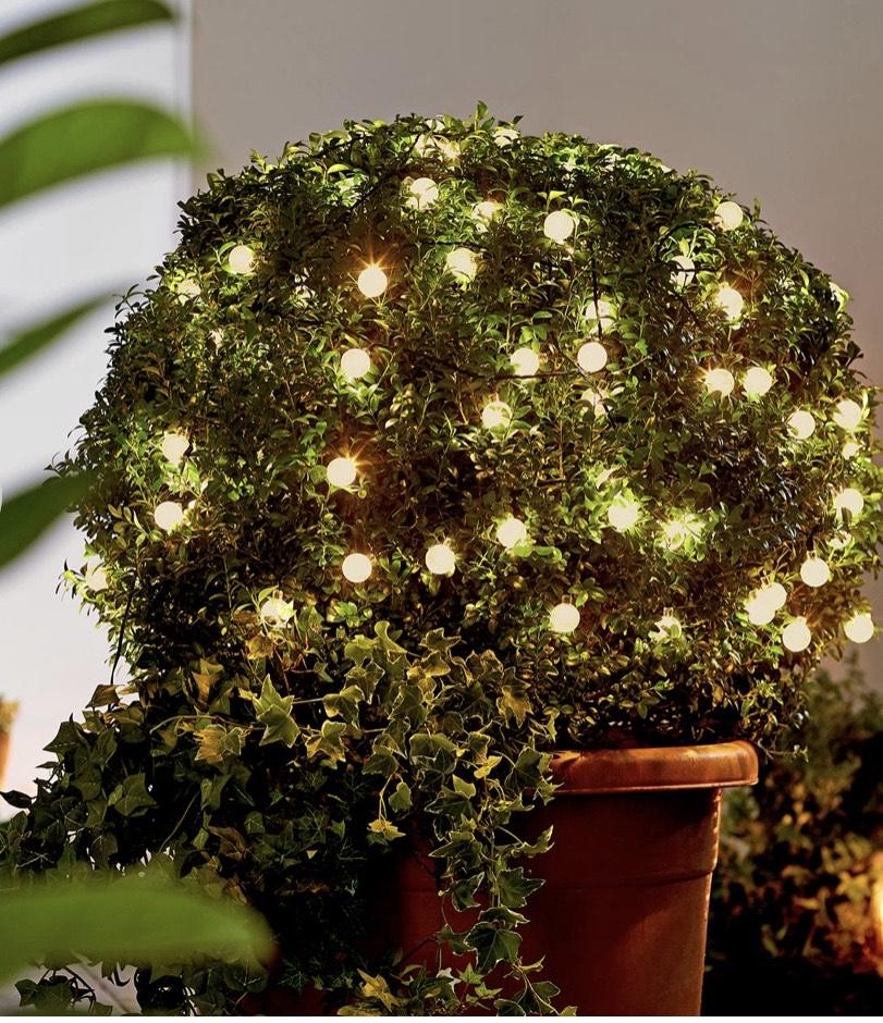 Tchibo LED-Outdoor-Lichterkette