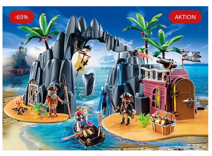 [Playmobil.de] Pirateninsel 6679