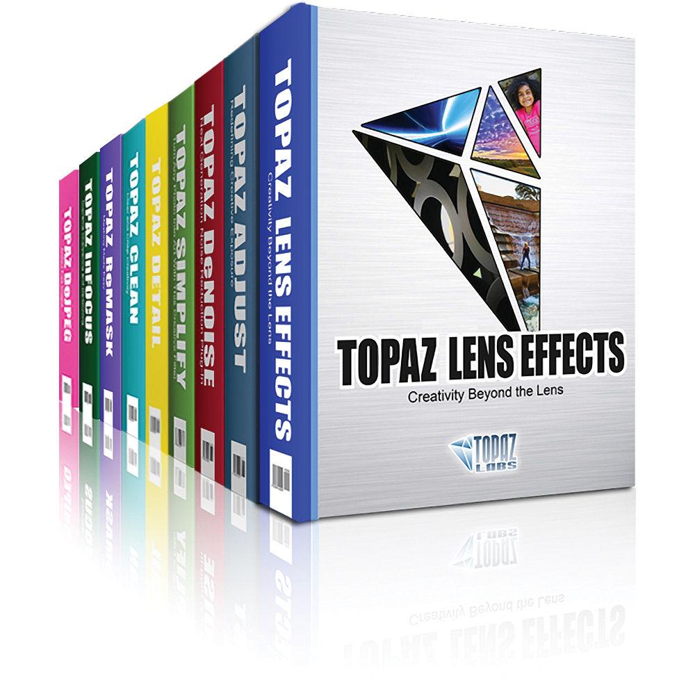Topaz Labs Bildbearbeitungsprogramme - 25% auf alles und weitere 15% extra mit Gutschein (z.B. DeNoise AI, Sharpen AI...)