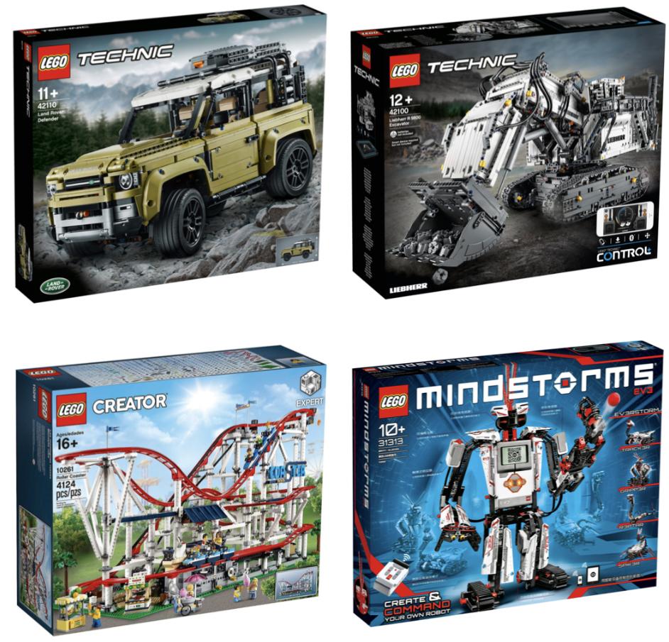 LEGO 31313 Mindstorms EV3 Roboter Bausatz für 218,44€ oder LEGO 10261 Creator Expert Achterbahn für 224,24€ usw. inkl. Versand mit Paydirekt
