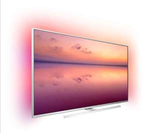 Philips Ambilight 55PUS6814/12 139 cm (55 Zoll) Smart TV mit Alexa-Integration / 4k UHD / Dolby Atmos / P5 Perfect Picture Engine