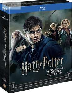 [amazon.it] Harry Potter Collection (mit deutscher Tonspur) (8 Blu-Ray)