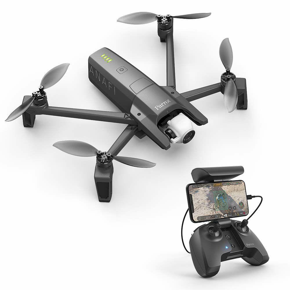 Parrot Anafi Drone, die ultrakompakte, fliegende 4K HDR Kamera