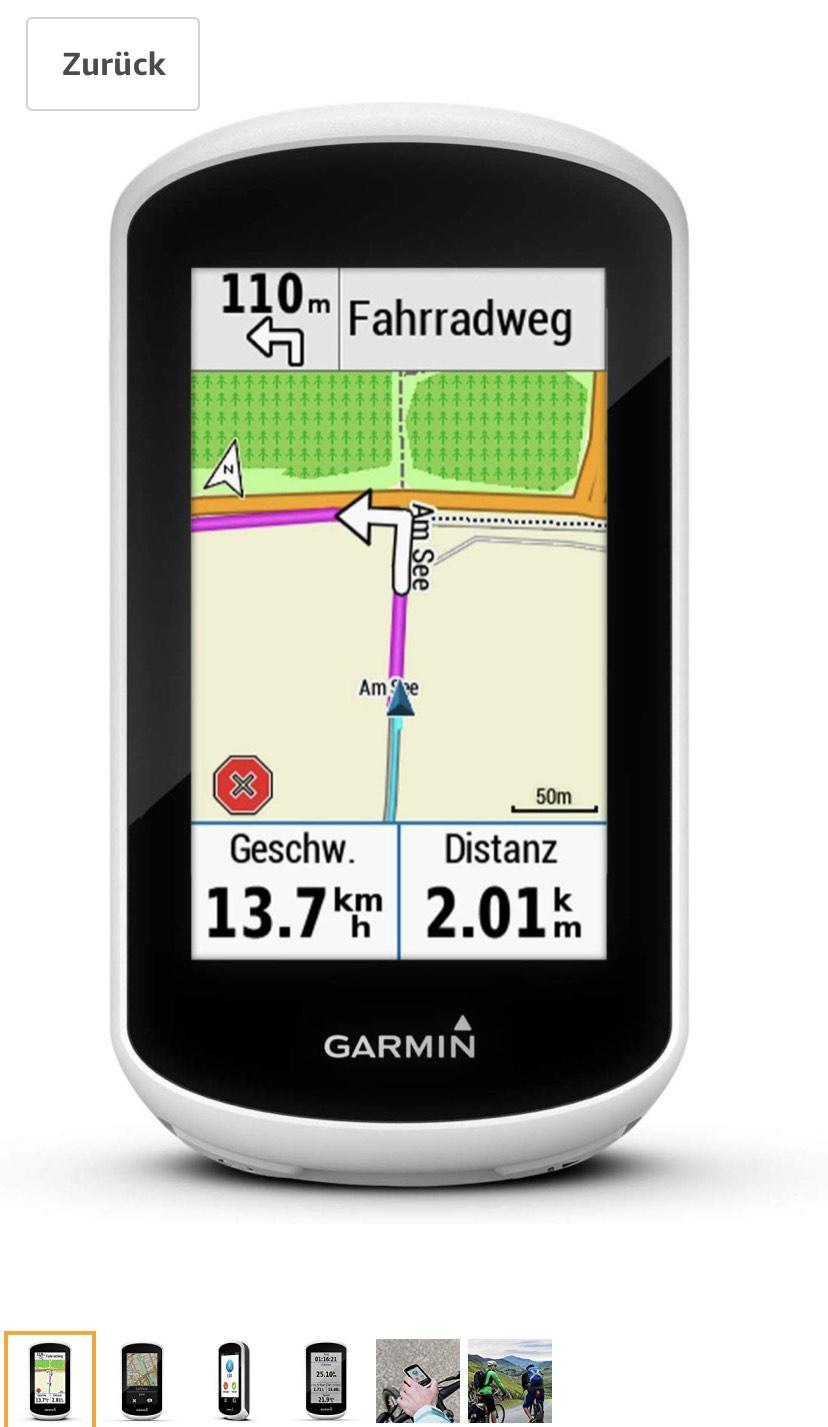 Garmin Edge Explore Fahrrad Navigation